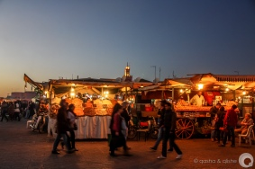 djemaa el-fnaa at dusk